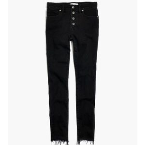 Madewell Skinny Button Through Jeans